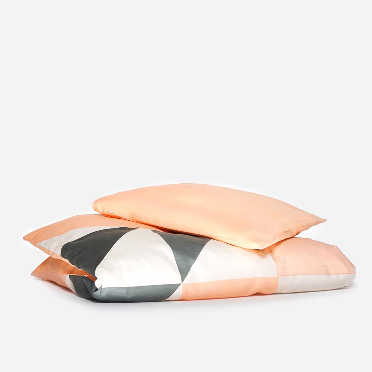 KAOS Peach Organic Baby Bed Set